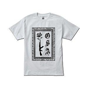 Camiseta Four Gang AK Kosa Nostra - White