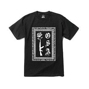 Camiseta Four Gang AK Kosa Nostra - Black