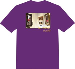 "Camiseta The Protest ""The Art of Plug"" - Purple"