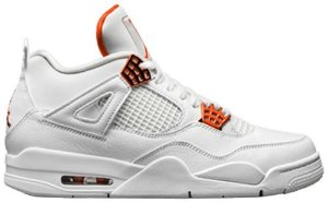 Tênis Nike Air Jordan 4 Retro - Metallic Orange