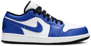Tênis Nike Air Jordan 1 Low - Game Royal