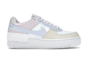 Tênis Nike Air Force 1 Shadow White Glacier Blue Ghost (W)