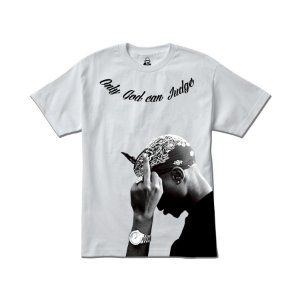 Camiseta Four Gang Tupac Only God can Judge