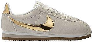 Tênis Nike Classic Cortez Phantom (W) - Metallic Gold
