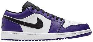 Tênis Nike Air Jordan 1 Low - Court Purple