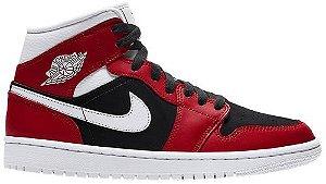 Tênis Nike Air Jordan 1 Mid - Gym Red Black