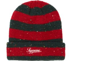 Touca Supreme Stripe Speckle - Red