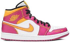 Tênis Nike Air Jordan 1 Mid - Día de los Muertos