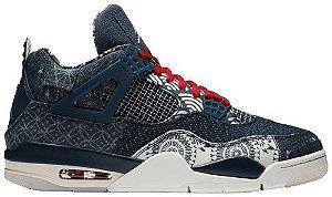 Tênis Nike Air Jordan 4 Retro SE Sashiko - Deep Ocean
