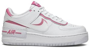 Tênis Nike Air Force 1 Shadow White - Magic Flamingo (W)