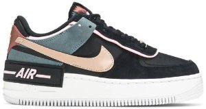 Tênis Nike Air Force 1 Shadow Black - Light Arctic Pink (W)