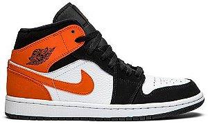 (Produto Usado) Tênis Nike Air Jordan 1 Mid - Shattered Backboard
