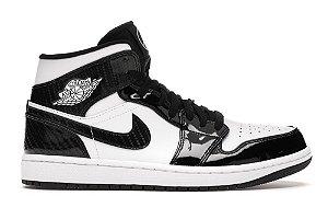 Tênis Nike Air Jordan 1 Mid - Carbon Fiber (2021)