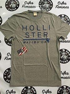 Camisa Malha Hollister