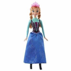 Boneca Anna Disney Frozen Brilhantes - Mattel