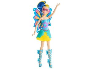 Barbie Super Princesa Super Gêmeas Abby - Mattel