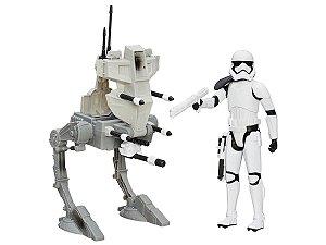 Boneco Star Wars Assault Walker C/ Carro  5 Pontos de Articulação - Hasbro