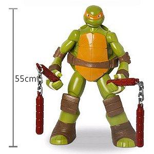 Tartaruga Ninja Michelangelo Gigante - Mimo