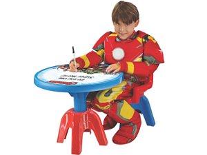 Mesa com Cadeira Avengers - Lider