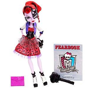 Boneca Monster High Foto de Terror Operetta - Mattel