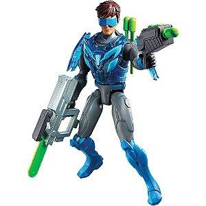 Boneco Max Steel Multi Misseis - Mattel