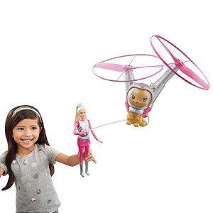 Barbie Filme Aventura Nas Estrelas Gatinho Voador - Mattel