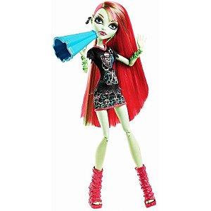 Boneca Monster Venus McFlytrap High Torcida - Mattel