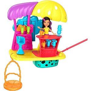 Polly Pocket Wall Party Casa de Sucos - Mattel