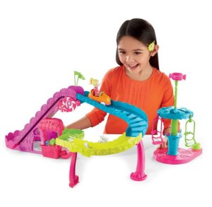 Polly Pocket Conjunto Parque Montanha Russa - Mattel