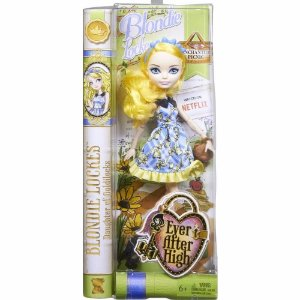 Boneca Ever After High Blondie Lockers Piquenique Encantado - Mattel