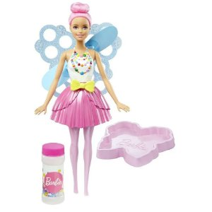 Boneca Barbie Dreamtopia Fada Bolhas Magicas - Mattel