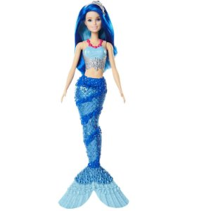 Boneca Barbie Dreamtopia Sereia Azul - Mattel