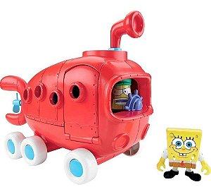 Imaginext Bob Esponja Ônibus Fenda do Biquíni - Mattel