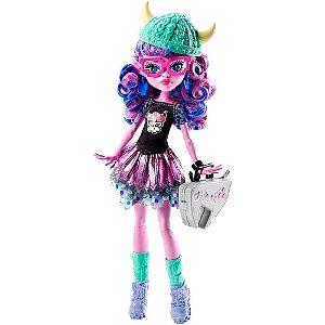 Boneca Monster High Kjersti Trollson Novas Alunas  - Mattel