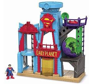Metrópolis Liga Da Justiça Imaginext - Mattel