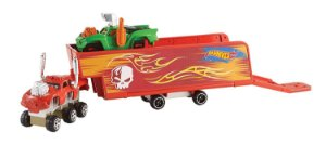 Hot Wheels Snap Rides Caminhão & Reboque - Mattel