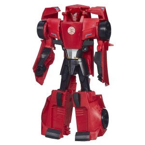 Transformers Robots In Disguise Sideswipe 3 Steps - Hasbro