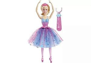 Boneca Barbie Bailarina Giros Magicos - Mattel