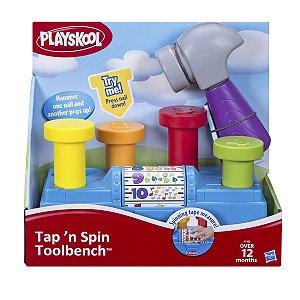 Conjunto Playskool Martelar e Aprender Plástico Colorido -  Hasbro