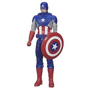 Boneco Vingadores Titan Hero Capitão América - Hasbro
