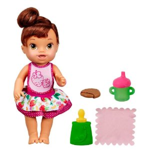 Baby Alive Meu Lanchinho Morena com Acessórios - Hasbro