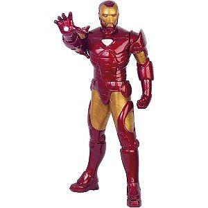 Boneco Homem de Ferro Metalizado Premium - Mimo
