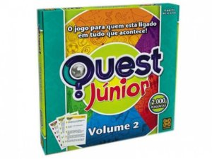 Jogo Quest Júnior Volume 2 - Grow