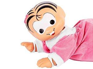 Boneca Baby Mônica Que Engatinha - Grow