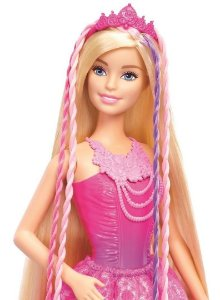 Barbie Princesa Penteados Mágicos - Mattel