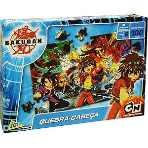 Quebra-Cabeça Horizontal - Bakugan - 100 Peças - Toyster