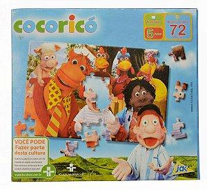 Quebra-cabeça Cocoricó 72 Peças - Toyster