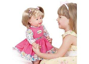 Boneca Bebê Bate Palminha - Cotiplás