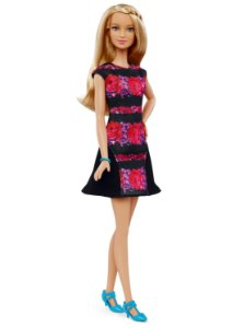 Boneca Barbie Fashionista Estilo Floral - Mattel