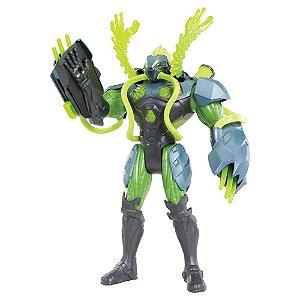 Boneco Max Steel Toxzon Garras Tóxicas - Mattel